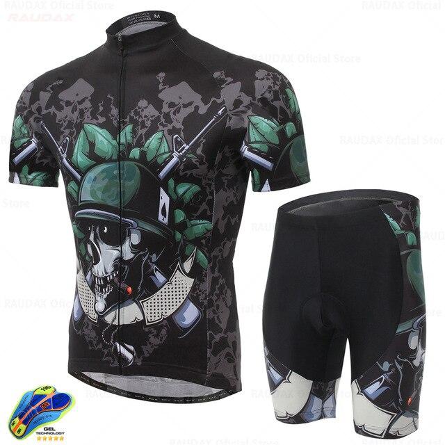 Conjunto de sudadera para bicicleta para hombre, ropa transpirable para ciclismo, equipo...