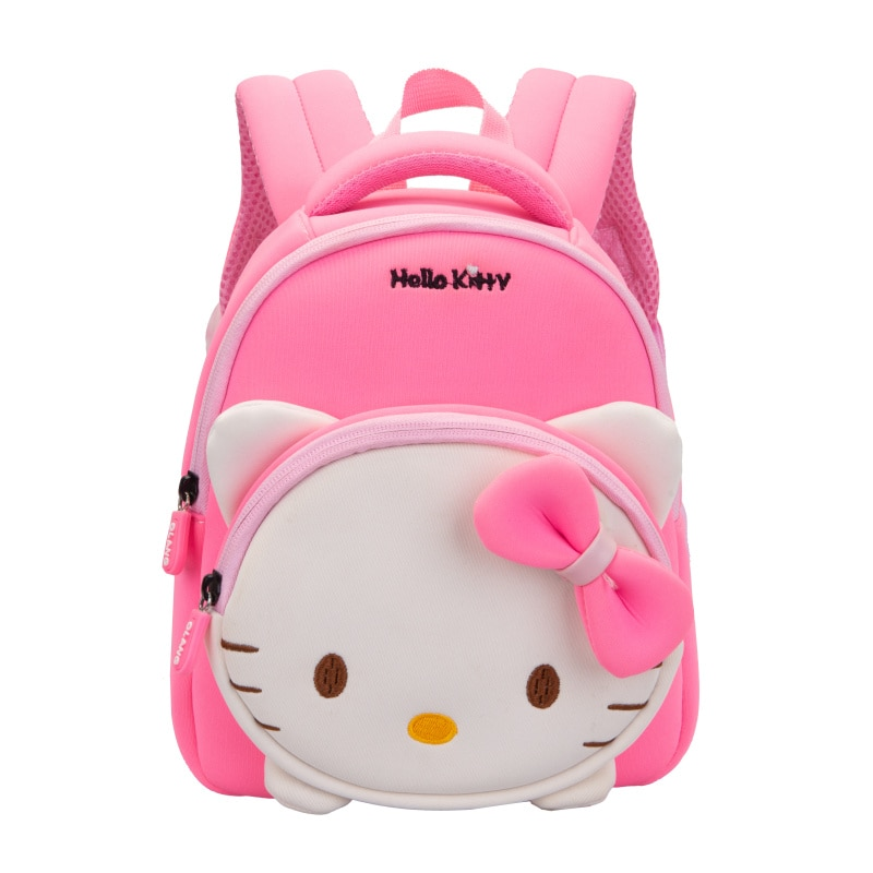 Girl School Bags Child Pink Purple Oxford Printing Backpack Kindergarten Student Cute Girls Children's Schoolbag Waterproof Kids