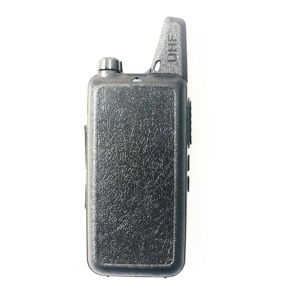 2PCS WLN KD-C1 plus Mini Walkie Talkie UHF 400-470MHz Slim Packet Size Two Way Radio enlarge