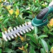 East 7.2V Li-ion sans fil coupe gazon électrique taille-haie 2 en 1 tondeuse à gazon jardin sécateur ET1511C