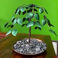 fountain usb electric tree of life design living waterfall geat office home or solarium 35x35cm