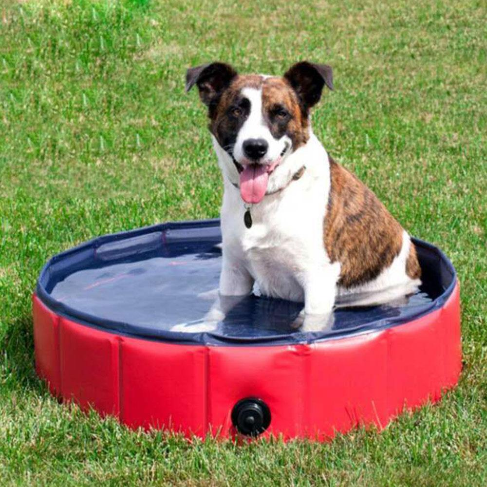 Piscina plegable de PVC para mascotas, piscina de natación, juego de verano, cojín de Agua pulverizada inflable familiar, almohadilla para juegos de césped y jardín, alfombra de baño para piscina de mascotas