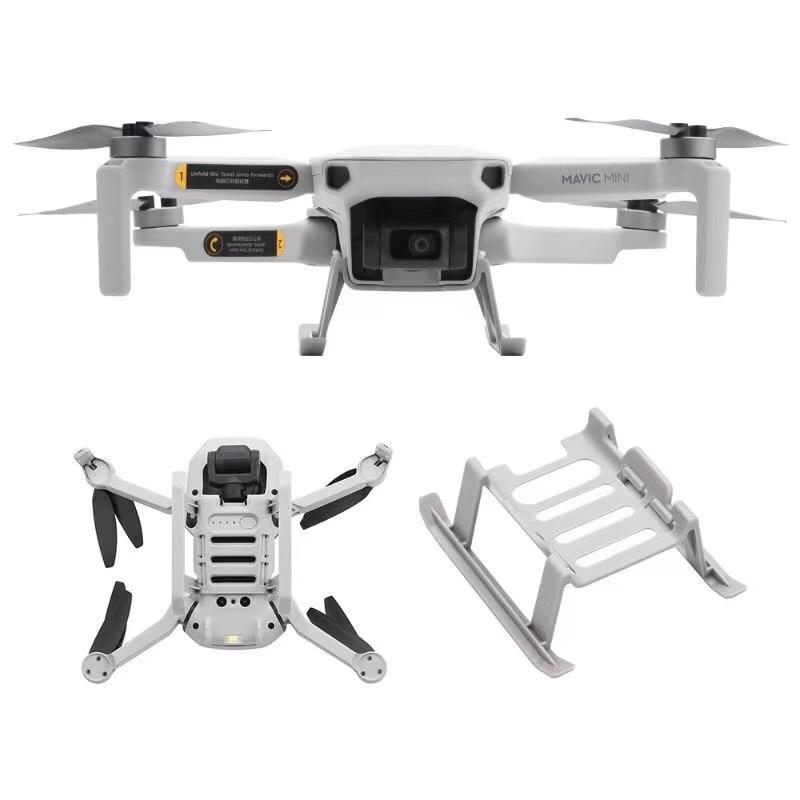 Quick Release Landing Gear for DJI Mavic Mini Mini 2 Drone Height Extender Long Leg Foot Protector Stand Gimbal Guard Accessory folding landing gear height extender leg guard protector for mavic air 2 drone l9ba