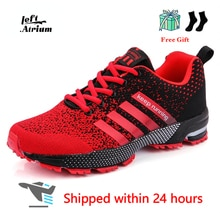 2021 Men Running Shoes Breathable Outdoor Sports Shoes Lightweight Sneakers for Women Comfortable At