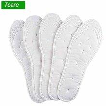 5 paire/ensemble coton chaussures jetables semelles douces confortables Sport semelles chaussures de course Inserts chaussures Pad pour chaussures hommes femmes