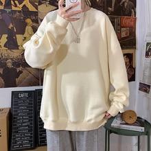 2021 Autumn Woman's Hoodies Oversize Female Loose Cotton Solid Thicken Warm Women Sweatshirts Lady F