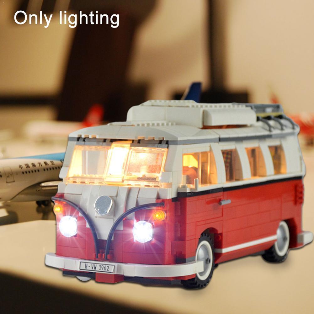 Новый светодиодный светильник для Lergo 10220 и 21001 Creator игрушки подарочные кубики Ван блоки Toyd здание в собранном виде Детский комплект игрушки блок K3D8