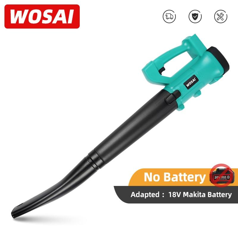 WOSAI-سلسلة MT-منفاخ أوراق الشجر اللاسلكي ، أدوات الحدائق ، مكنسة كهربائية ، بطارية ليثيوم 18 فولت ماكيتا