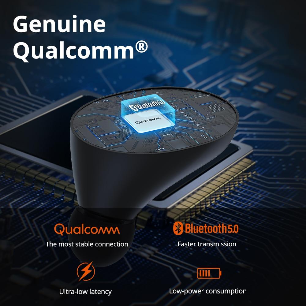 [Newest Version] Tronsmart Spunky Beat True Wireless Bluetooth Earphone QualcommChip APTX Wireless Earbuds with Volume Control enlarge