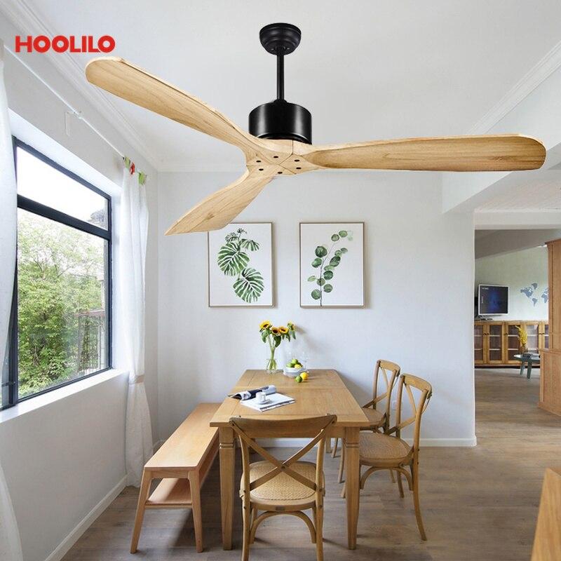Ventilador de techo de 6 colores de 52 pulgadas de estilo decorativo Orient sin luz 110V 220V. Ventilador de techo con Control remoto envío gratis