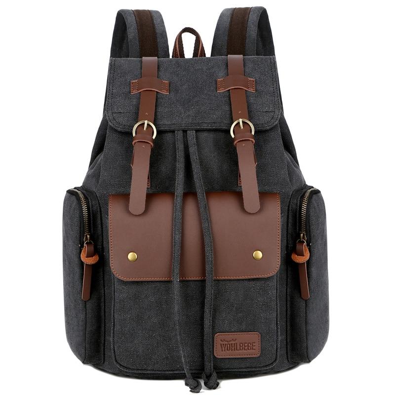 2021 Large Capacity Travel Backpacks Outdoor Sports Backbags High Quality Canvas Backpacks Mens Travel  Rucksacks Dropshipping