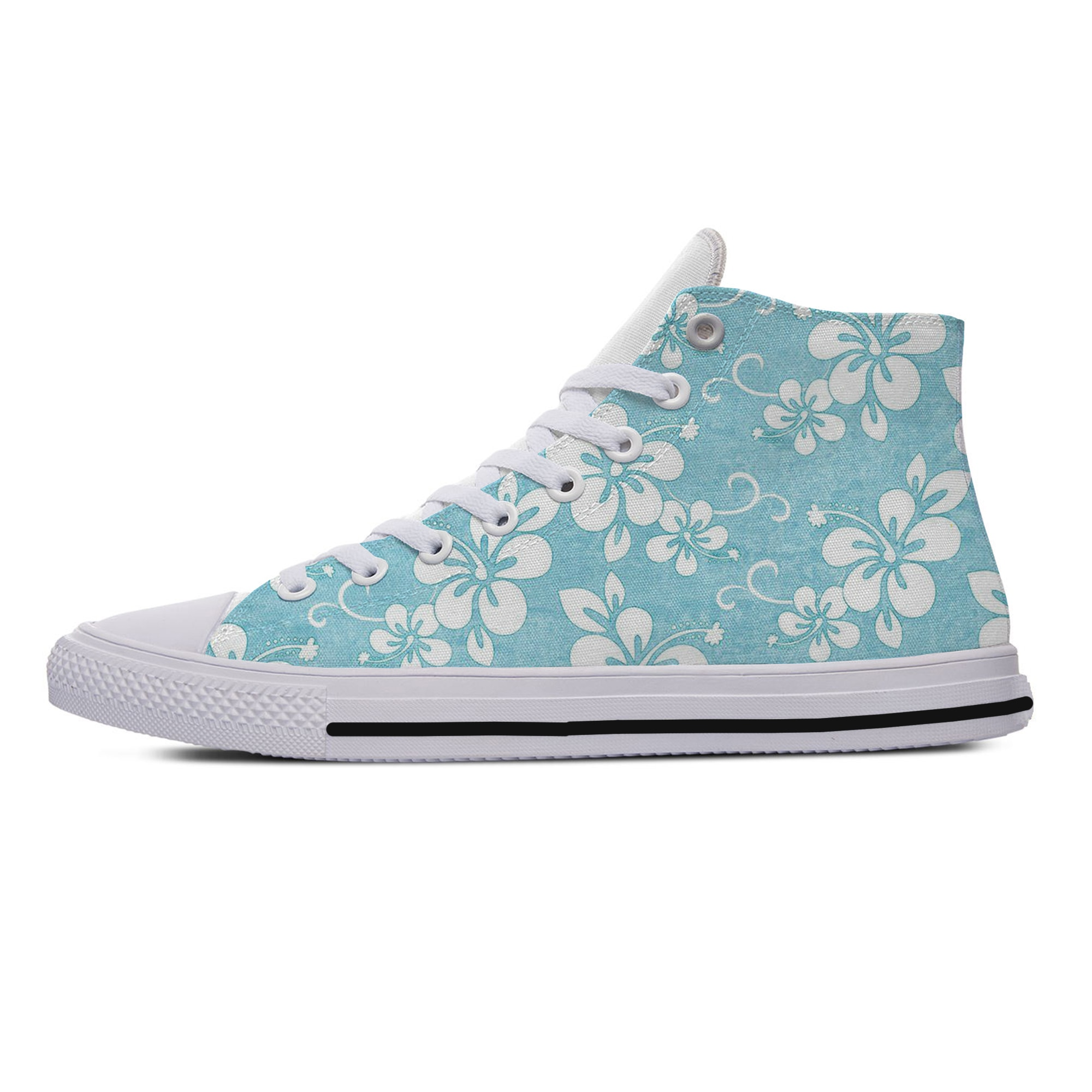 Cool Fashion Woman Man Lightweight Sneakers Breathable Casual Board Shoes High Quality Help Hot Canvas Floral