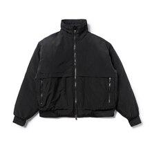2019 nouvelle Collection bonne qualité brouillard rembourré vestes manteaux hommes femmes HipHop hiver chaud surdimensionné hommes Ma1 Bomber veste courte