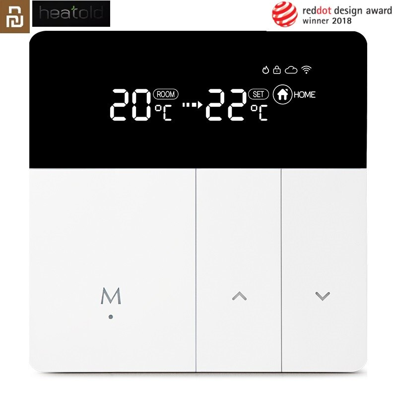Xiaomi Mijia Smart WiFi Thermostat Temperature Controller for Water Electric Floor Gas Boiler Heatin