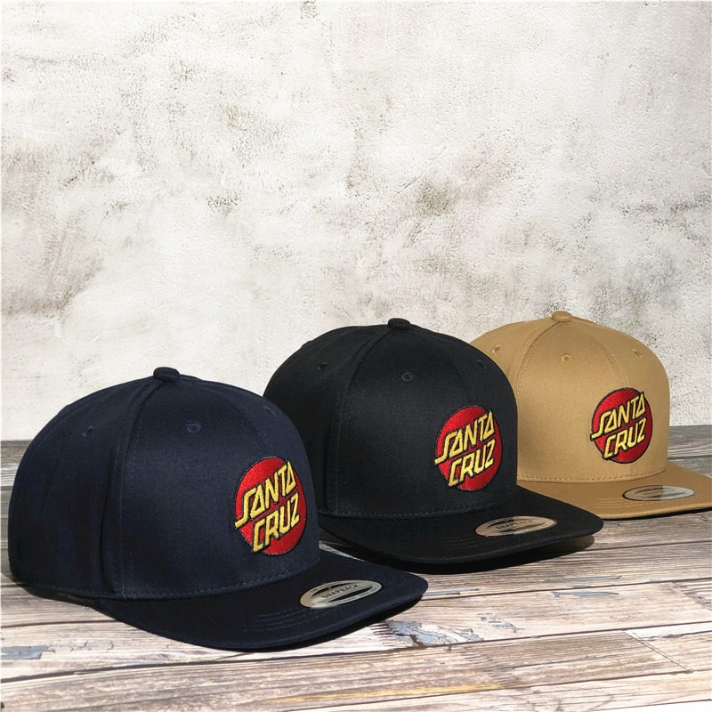 Santa cruz Baseball Cap men sun hat women's hats peaked hip hop flip skateboard Snapback adjustable Casual Outdoor Independent