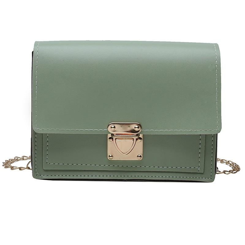 High Quality Women bag Solid Color Imitation Leather Women Shoulder bag Croosbody bag Fashion Simple Women handbag gril package