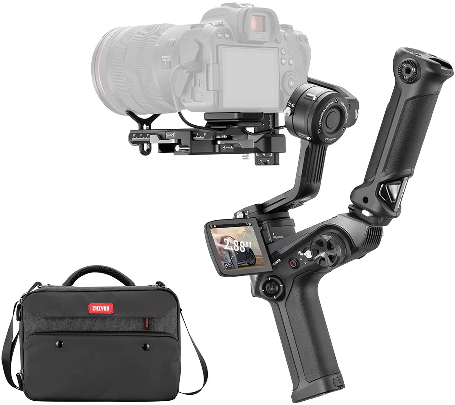 Zhiyun Weebill 2,3-Axis Handheld Gimbal Stabilizer for DSLR Camera Mirrorless Cameras with Sony Nikon Canon Panasonic LUMIX