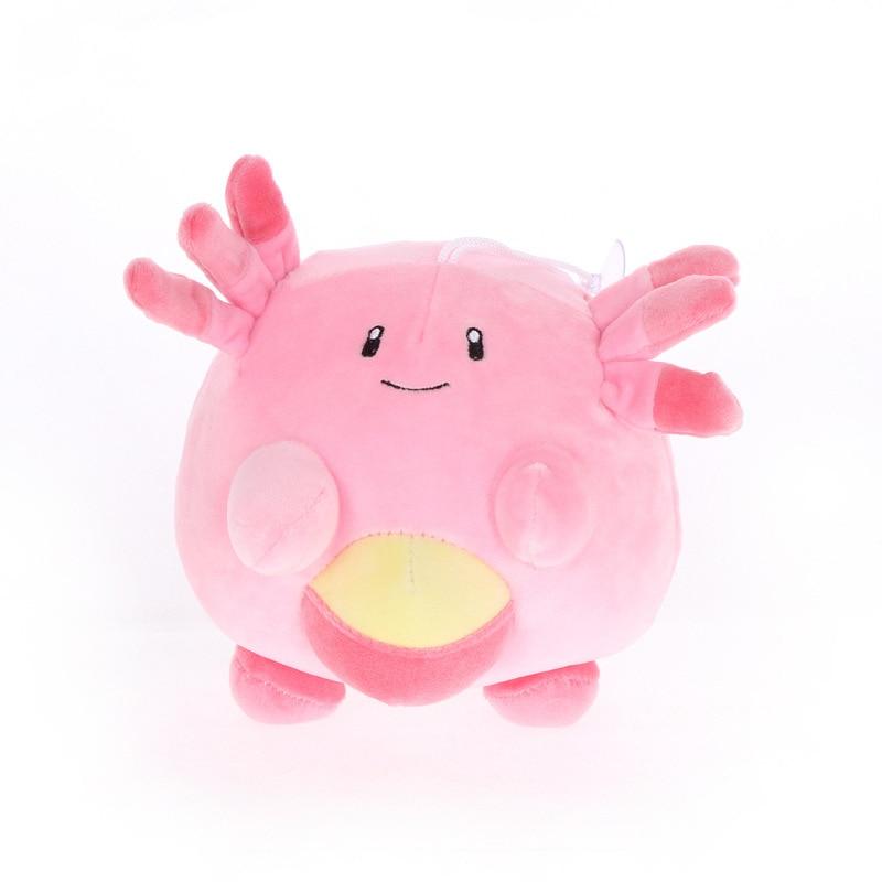 1pcs 17cm Cute Chansey Plush Toys Dolls Anime Chansey Plush Toys Doll Soft Stuffed Anime Plush Toys Children Gifts
