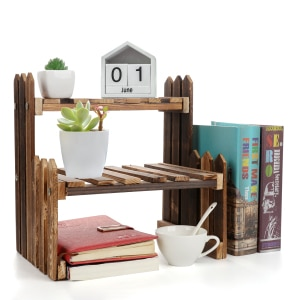 Plant Bonsai Holder Rack Home Balcony Wood Flower Pot Holder Garden Flower Plant Stand Bonsai Display Shelf