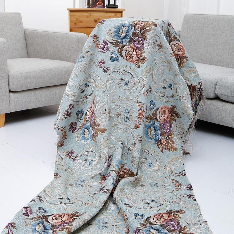 Estilo europeu e americano moda chenille tecido traje estofamento móveis sofá cortina tecido