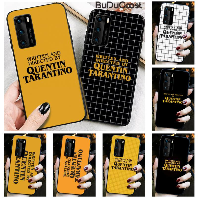 written-directed-quentin-tarantino-phone-case-for-huawei-p30-p20-mate-20-pro-lite-smart-y9-prime-2019