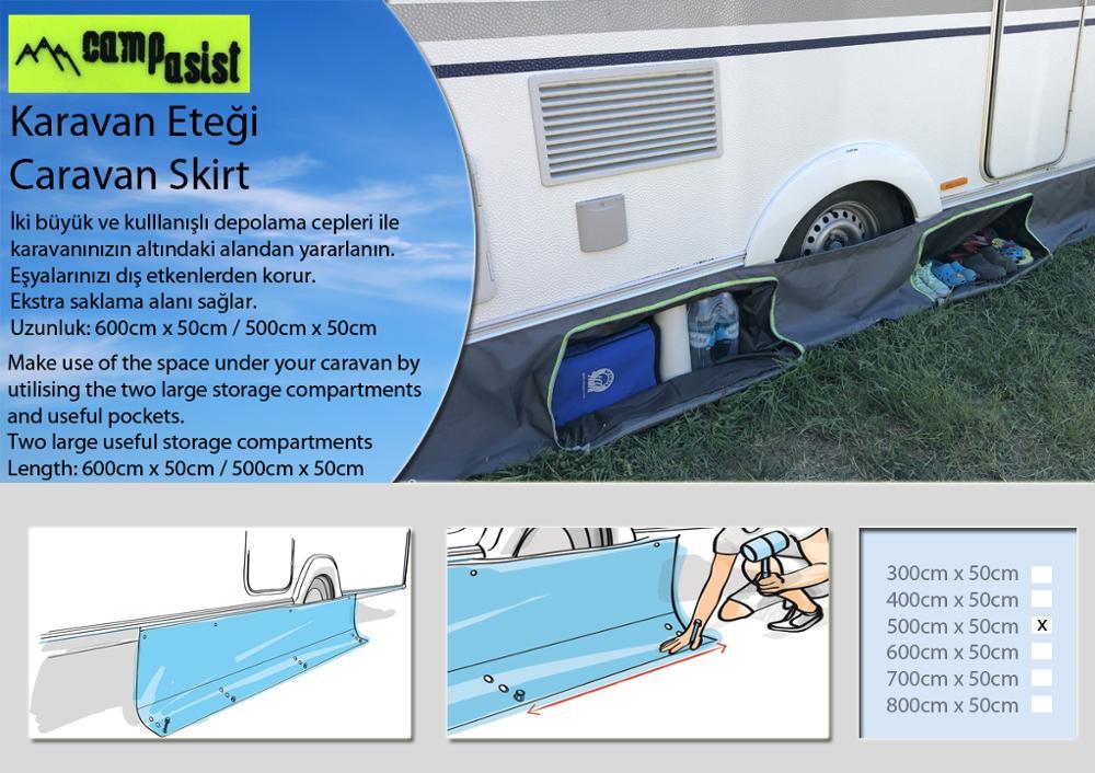 Caravan Skirt 6 MTR (New Version- Special Caravan Cord) enlarge