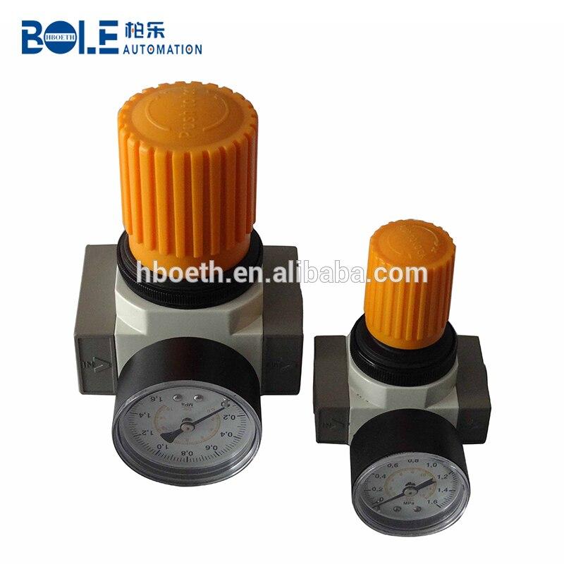 Regulador de presión de aire tipo AIRTAC serie GR200-06 para compresor