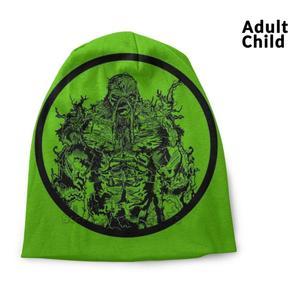 Swampy Beanie Knitted Hat Balaclava Hats Swamp Thing Comics