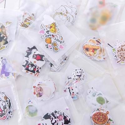 Lindo japonés marinero Luna Panda planta de papel de diario pegatinas de Scrapbooking papelería de la escuela suministros