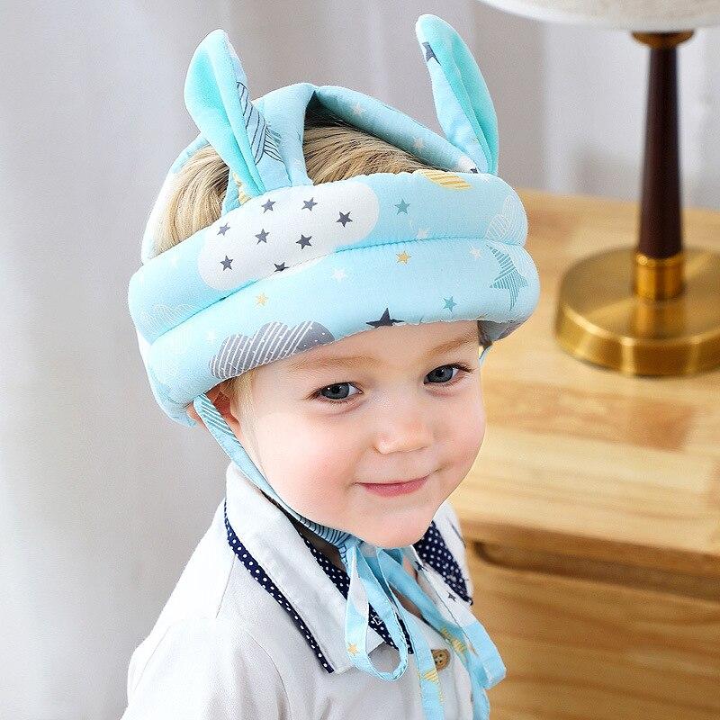 Детская шапка для малыша анти-столкновения защитный шлем малыша Безопасность шлем Мягкий Удобный головной безопасности защитные колпачки