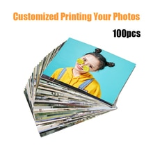 100pcs Customized Printing Your Photos Pets Kids Baby Stars Landscape Photos Pictures Print Importan