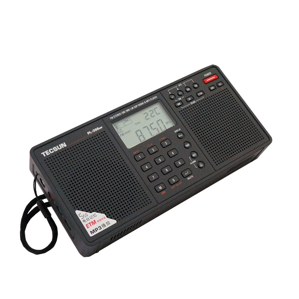 PL-398MP Stereo Radio Portatil AM FM Full Band Digital Tuning with ETM ATS DSP Dual Speakers Receiver MP3 Player enlarge