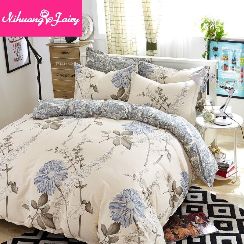 مجموعة بسيطة من أربع قطع لا يمكن أن تحمل الكرة ، لا يتقلص ، غطاء لحاف ، أغطية سرير ، مجموعة من ثلاث قطع