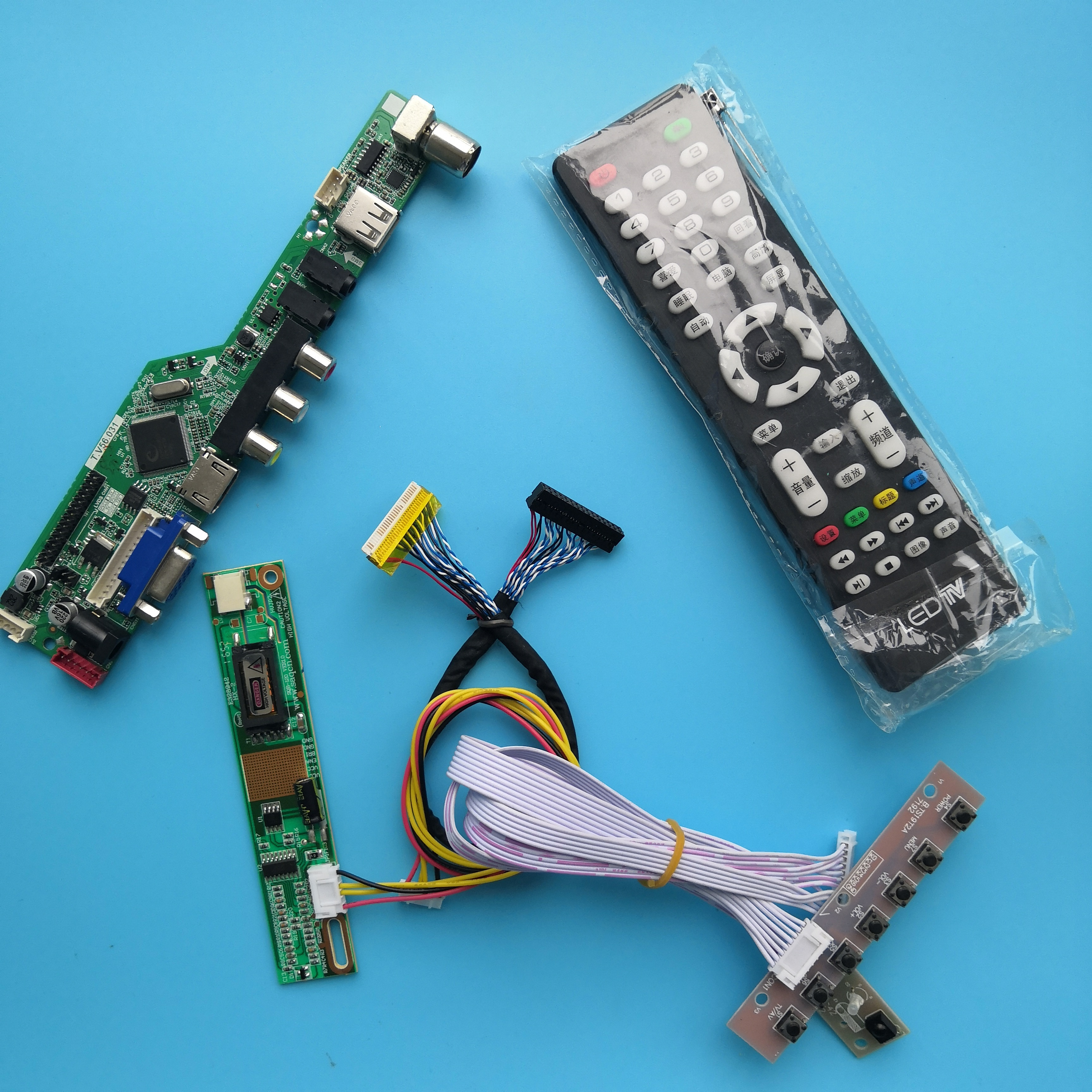 ل LP150X08-A3K2 القرار التلفزيون AV 1 مصابيح 15