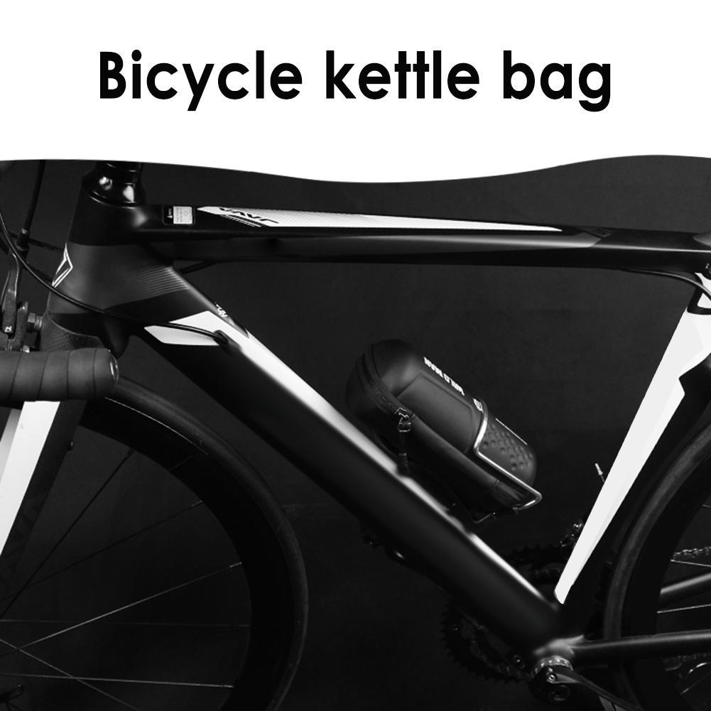 Kits de réparation de vélo de route de montagne sac coquille dure stockage de vélo étanche à la pluie Kits de réparation quotidiens sac de bouilloire pochette équipement de cyclisme