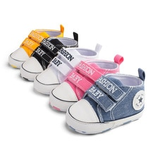 Brand New Toddler Infant Newborn Kids Baby Boys Canvas Soft Sole Crib Sneakers Shoes Fashion Baby Sh