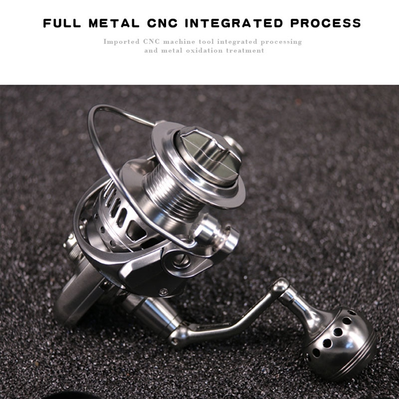 Fishing Reels 5.1:1 Gear Ratio 11+1BB, Light and Smooth Spinning Reels, Powerful Carbon Fiber Drag, Saltwater Freshwater Fishing enlarge