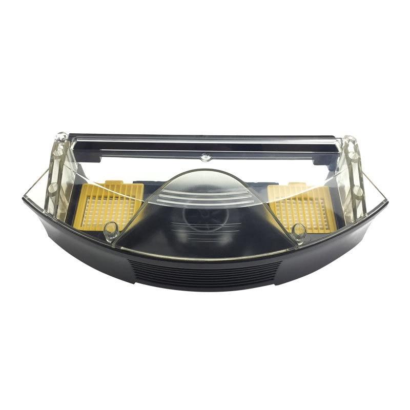 Caja de aspiradora de polvo, caja de filtro de polvo, caja de basura, accesorios para cajas para IRobot Roomba 700 Series 760 770 780 790