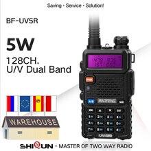 Baofeng UV-5R talkie-walkie double affichage double bande Baofeng UV5R Portable 5W UHF VHF bidirectionnel Radio Pofung UV 5R HF émetteur-récepteur