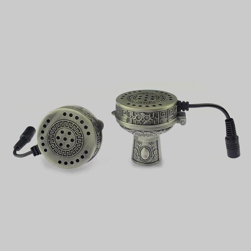 1X pequeño cabezal cuenco para pipa de agua calentador de cerámica para Shisha Nargila sabores