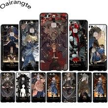 Anime Fullmetal Alchemist En Silicone Souple Téléphone étui pour huawei P8 P9 P10 P20 P30 Pro Lite Mini P Smart Z Plus