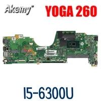 laptop motherboard for lenovo thinkpad yoga 260 i5 6300u sr2f0 i5 6300u mainboard la c581p 00ny955