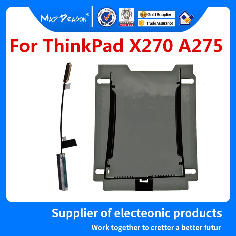 Nuevo SATA cable para disco duro SSD HDD soporte para lenovo ThinkPad X270 A275 01HW968 01LV789 SC10P93586 DC02C00BS10 DC02C009Q10