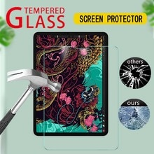 9H Hardness Tempered Glass For iPad Air 4 10.9 Inch Protective Film 2020 Anti Scratch Anti Fingerprint HD Clear Screen Protector