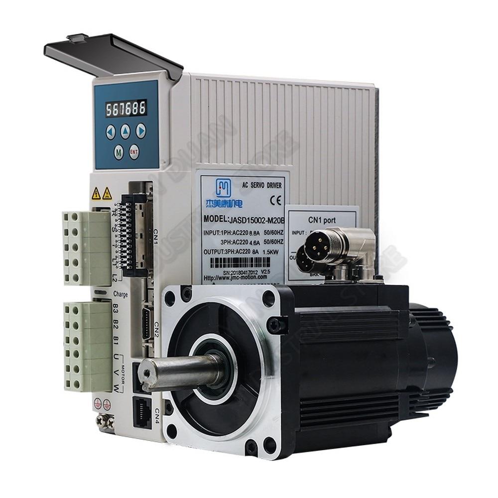 1.3KW Servo-giro absoluto codificador 20Bit 4.2Nm 110mm 220V 1HP/3PH AC 3000RPM Motor Kits de 1300W para CNC Robot