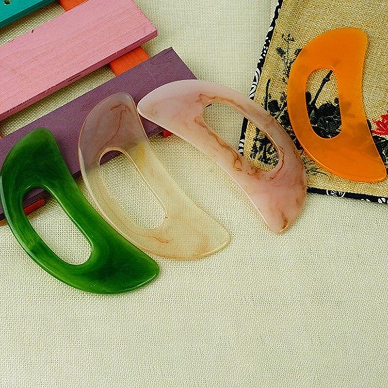 Wholesale Guasha Board Body Back Leg Resin Massage Board Scraper Health Care Tool