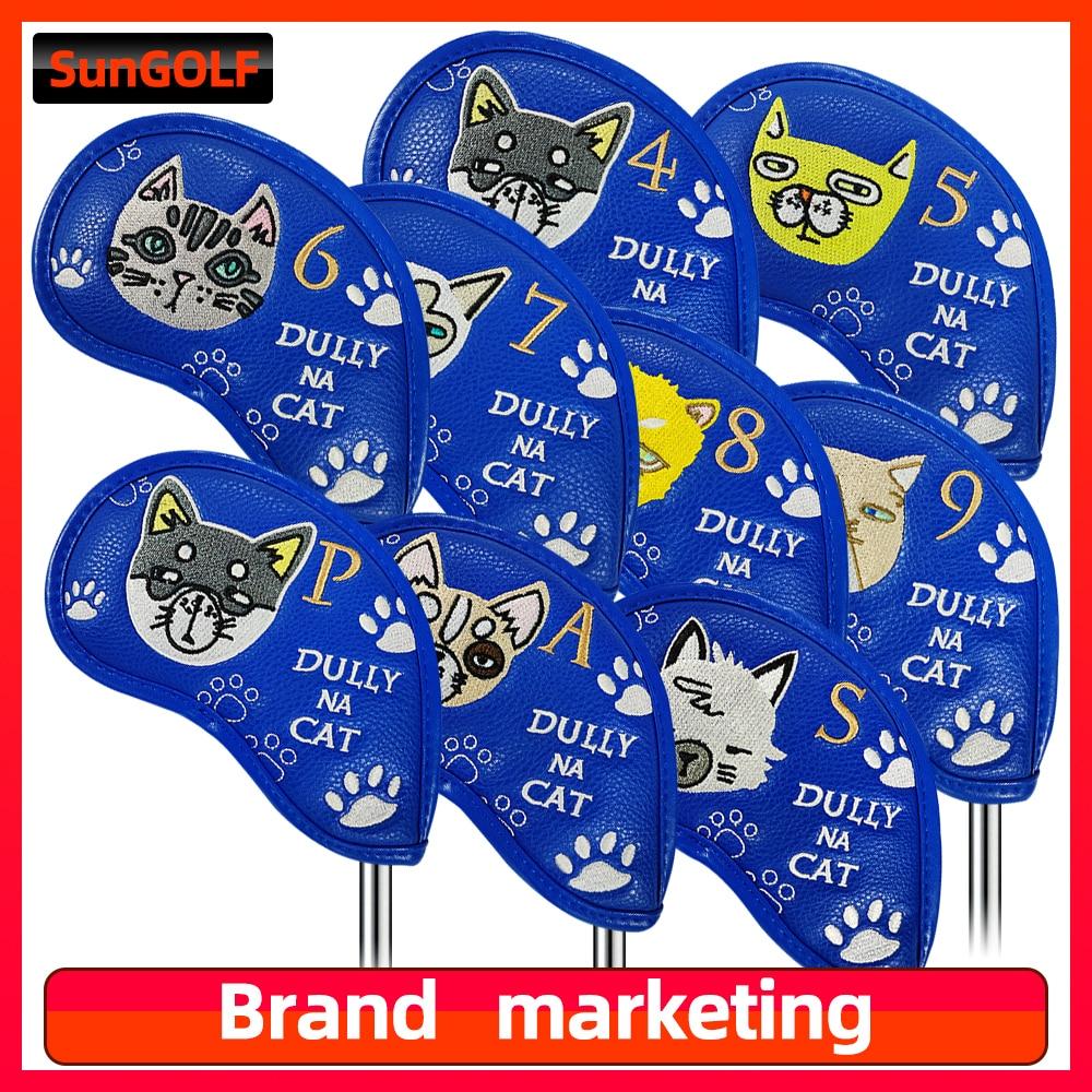 9 шт., водонепроницаемые чехлы для телефонов с рисунком кошки