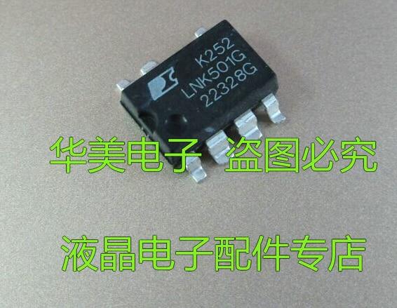 Xinyuan LNK501G LNK501GN LNK501 SOP7 10 teile/los Neue original authentischen integrierte schaltung IC LCD chip elektronische