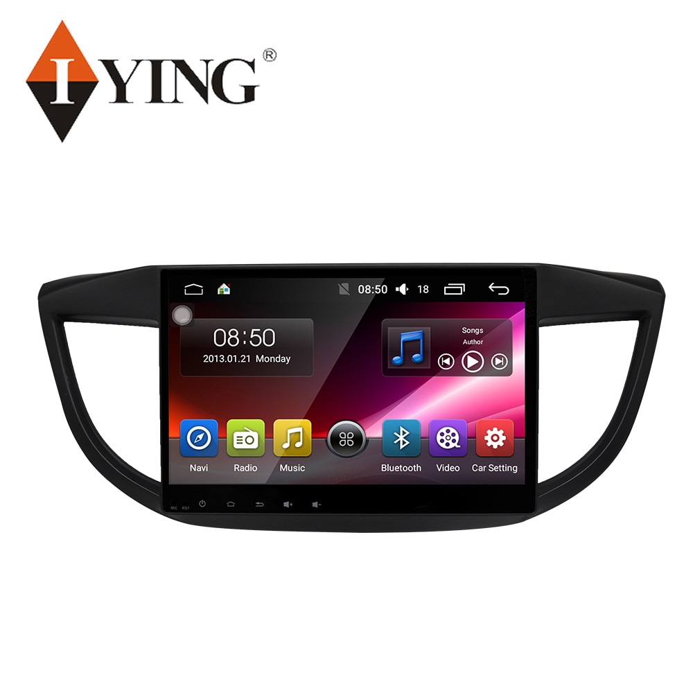 """Iying 10 """"android 9 rádio do carro para honda crv CR-V 2012-2016 multimídia jogador de vídeo navegação gps 4g 8 corewifi autoradio"""