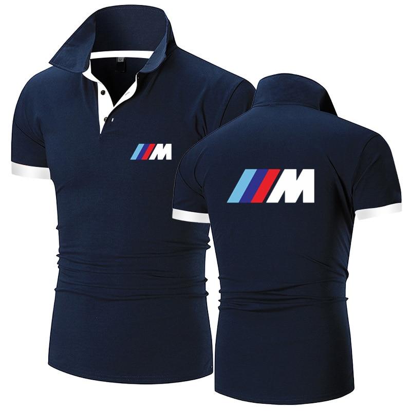 Модная популярная Летняя мужская рубашка-поло, дышащая брендовая мужская футболка, мужская спортивная рубашка-поло для отдыха, футболка